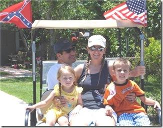 Golf cart family 2